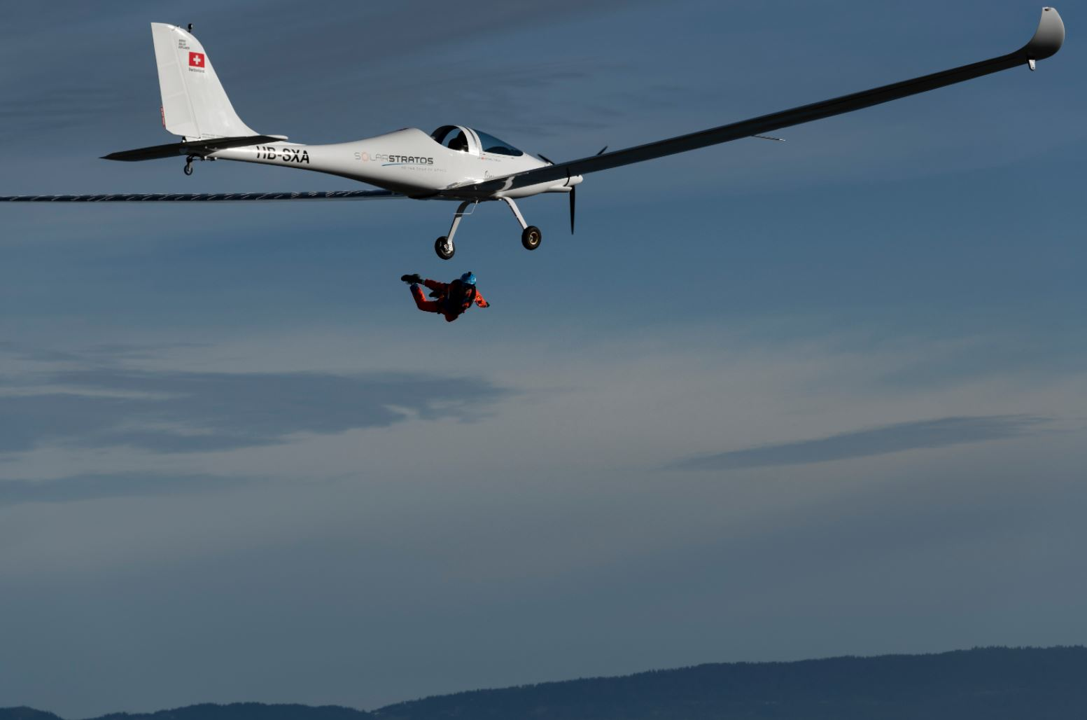 SolarStratos Skydive